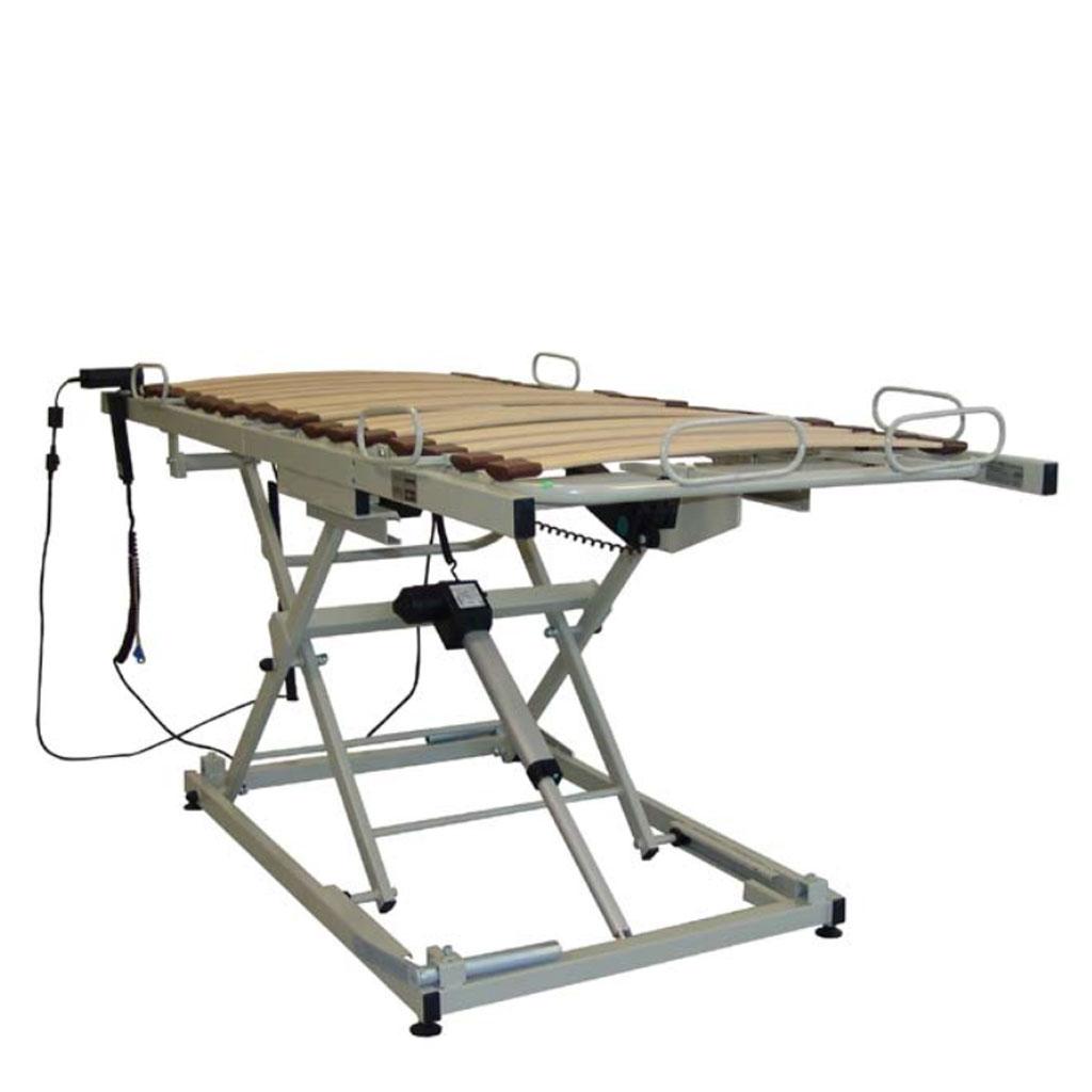 AKS B4 compact Einlegerahmen- innovativer Hebepflegerahmen mit standfesten Argumenten- 4-geteilte Liegefläche- neue Bett-im-Bett Version mit Holzfederleisten- bis 150 kg