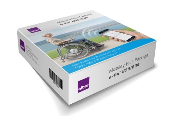Alber Mobility Plus Package für e-fix E35-E36
