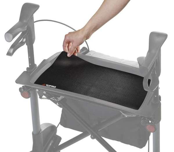 Anti-Rutsch-Matte für Rollatoren Tablett
