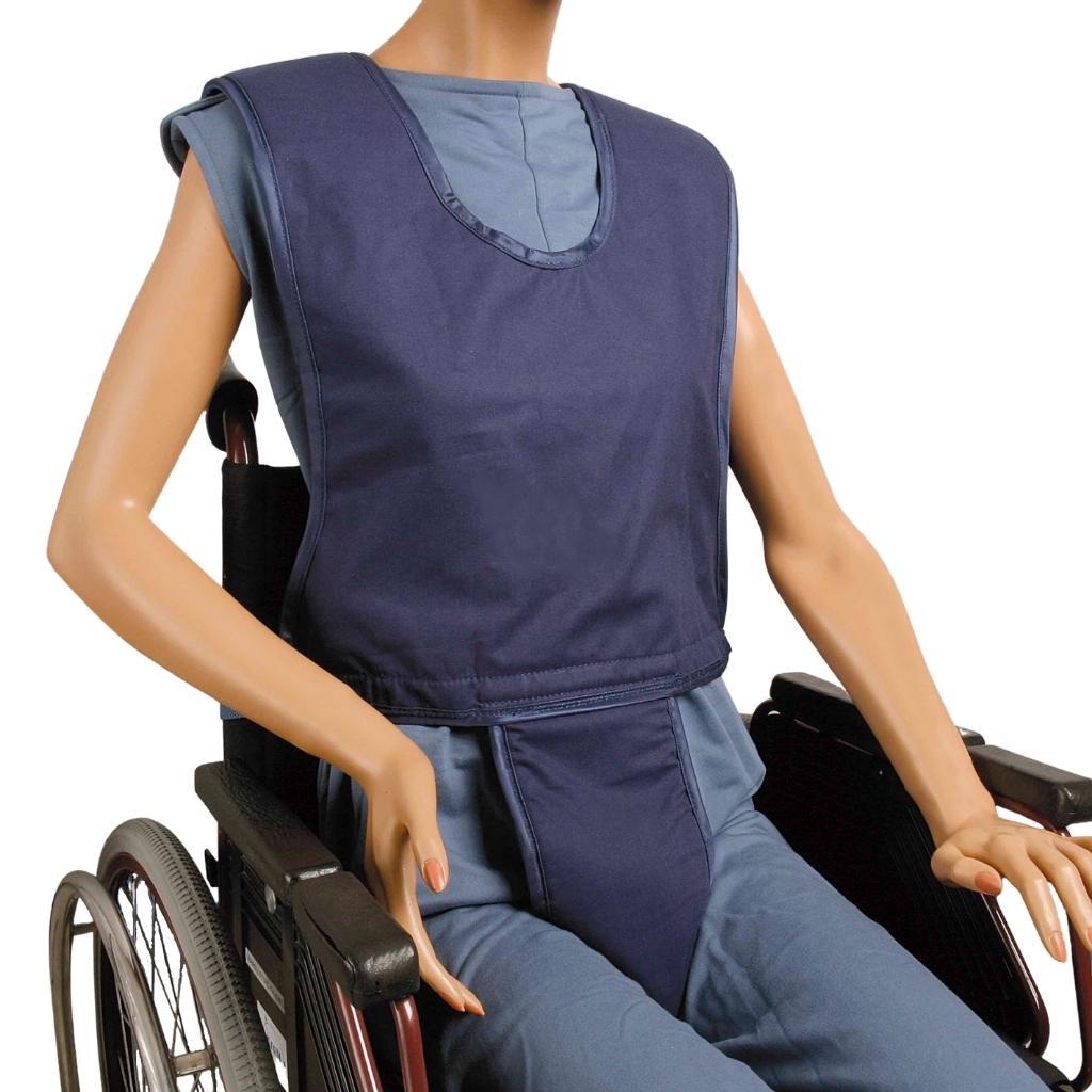 Biocare Komplett Clip- für Hüfte- Schulter und Becken mit Clipverschluss- für Personen im (Roll-) Stuhl mit instabilem Oberkörper