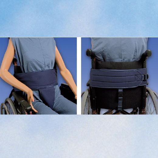 Biocare Sitzhose Klett- flüssigkeitsabweisend XL- für Hüfte und Becken- Patientensicherungssystem- für Personen im Rollstuhl mit instabilem Unterkörper