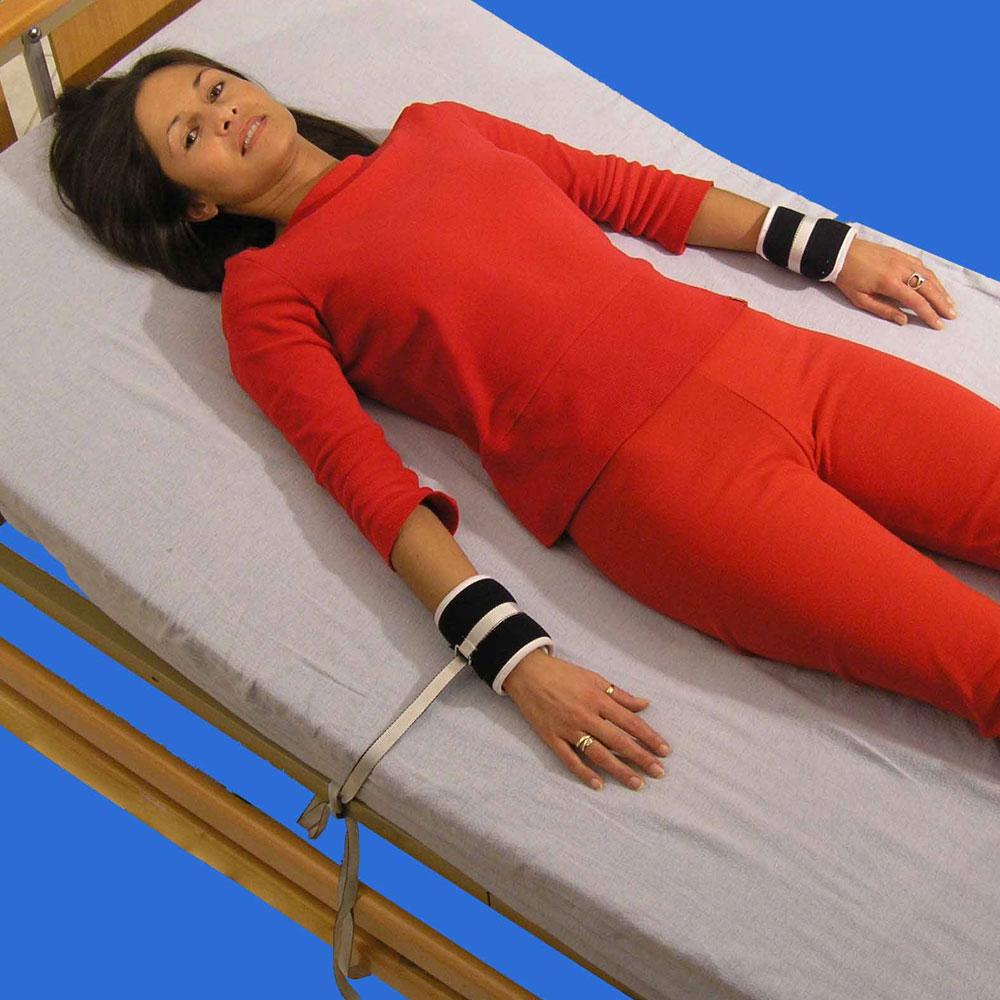 Biocare Soft Handgelenkfixation- gepolstert- mit Klett und Befestigungsbändern
