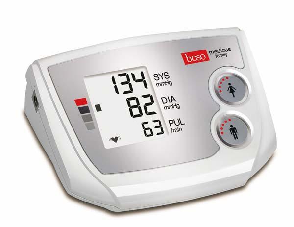 Boso Medicus Family Oberarmmessgerät Das Familien-Blutdruckmessgerät