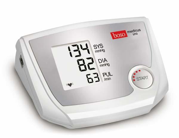 Boso Medicus Uno Oberarmmessgerät Das Blutdruckmessgerät mit Einknopfbedienung