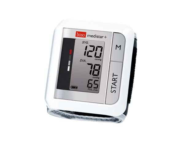 Boso Medistar + Handgelenkmessgerät Das Bludruckmessgerät mit 90 Speicher und Skala