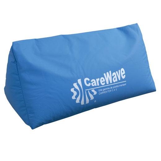 CareWave Deltakissen XL- 60x41cm- blau- Lagerungskissen- Multifunktional- ideal zur 30- und 135- Lagerung- Lagerungshilfe für vielfachen Einsatz