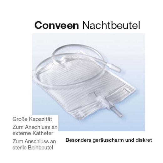 Coloplast Conveen Nachtbeutel Packungseinheit: 10 Stück-90cm Schlauch