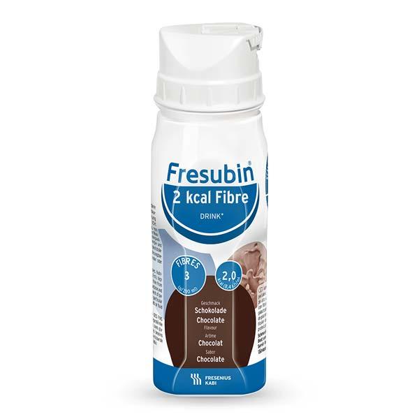 Fresubin 2kcal Fibre Drink Schokolade (24x200ml) Trinknahrung - so schmeckt Lebensqualität