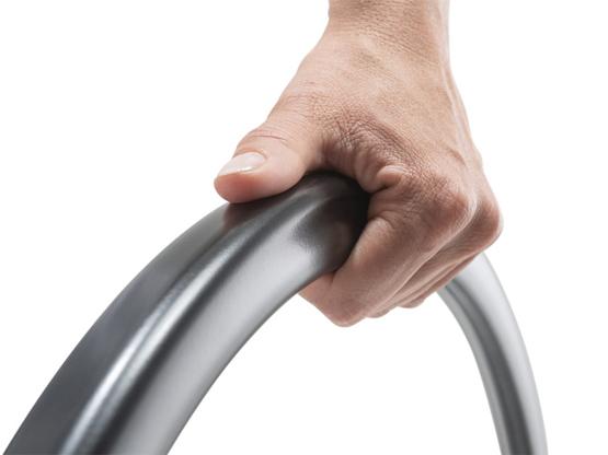 Greifreifen Carbolife Curve L- L-Profil-Form mit maximaler Grifffläche für Hand und Daumen- für Alber e-motion M25 (nur Bestellung als Aufpreis zusammen mit neuem E-Motion möglich)