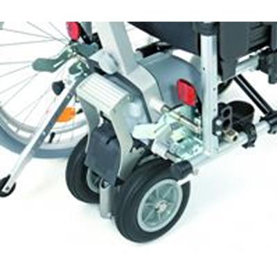 Halterung zum Anbau des Viamobil Eco am Rollstuhl