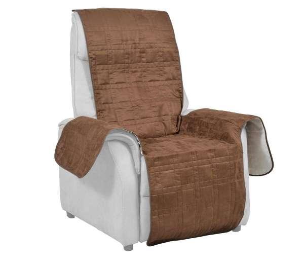 Integral Sesselschutz Braun Standard-Sessel