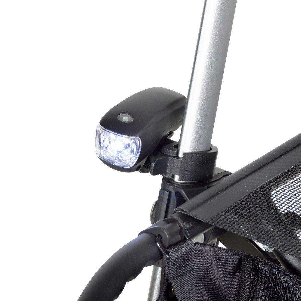 LED-Licht inklusive Halterung für Gemino Rollatoren
