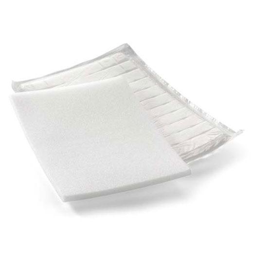 Ligasano Pads- steril- 24x16x1cm (P-10)- Therapeutischer PUR-Schaum für die aseptische Wundbehandlung- postoperative Wundversorgung oder bei Verbrennungen