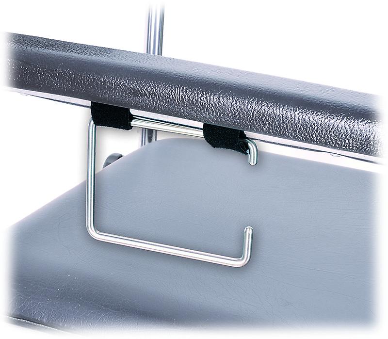 MPB Toilettenpapierhalter aus Edelstahl- zur Montage am Toilettenstuhl-Seitenteil