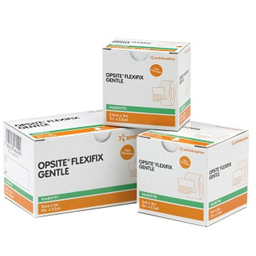 OPSITE Flexifix Gentle 10cm x 5m (P-12) Sanft haftende transparente Fixierfolie