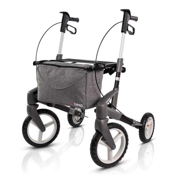 Outdoor-Rollator Olympos ATR medium schwarz