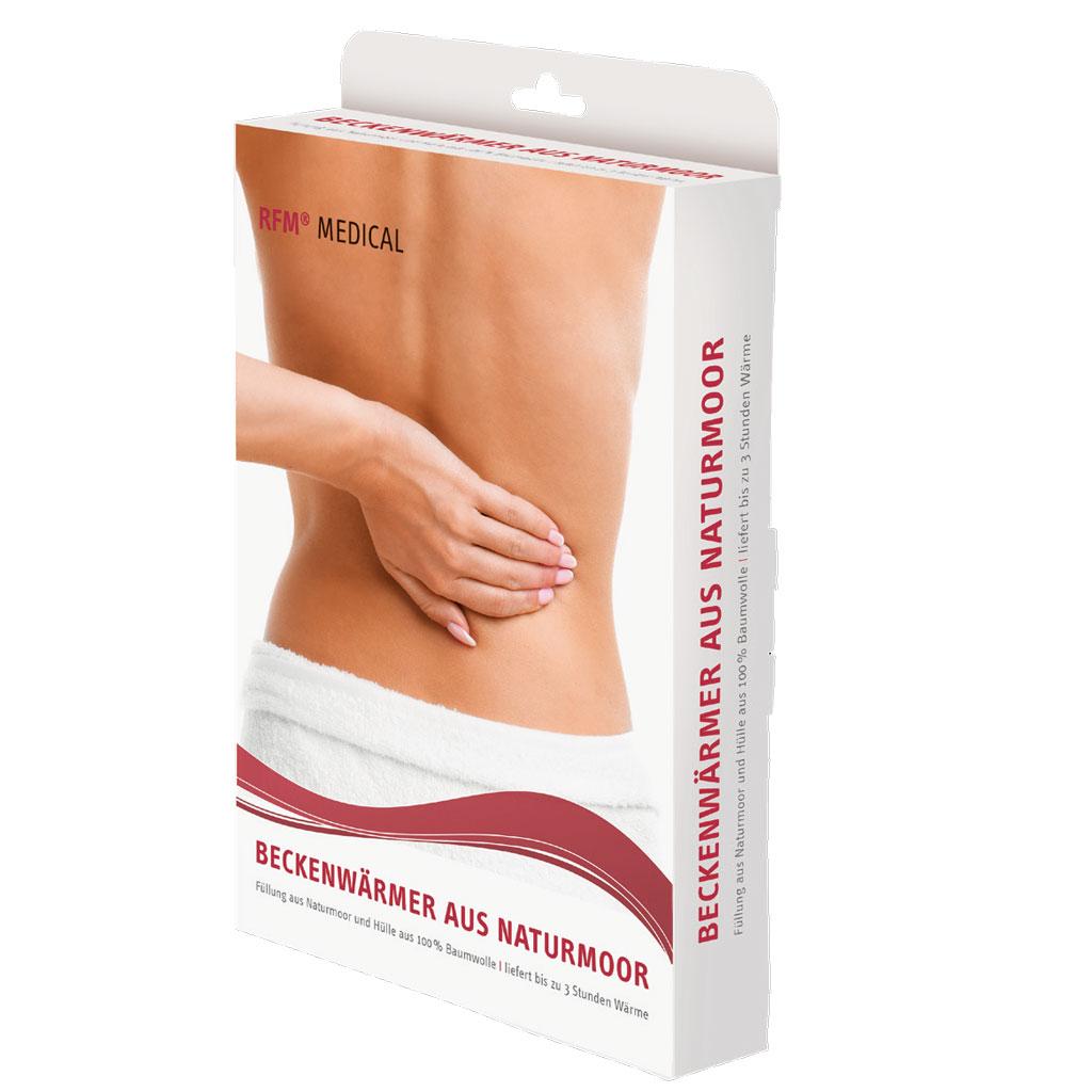 RFM Naturmoor Beckenwärmer- Wärme-Anwendung ideal bei entzündlichen Schmerzen- Verspannungen von Muskeln- Gelenkschmerzen und rheumatischen Schmerzen