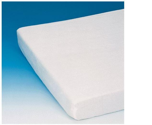 Russka Matratzenschutzbezug Frottee- 90x200x15cm- Super-Qualität- hochwertig weiches Frottee- Unterseite PVC