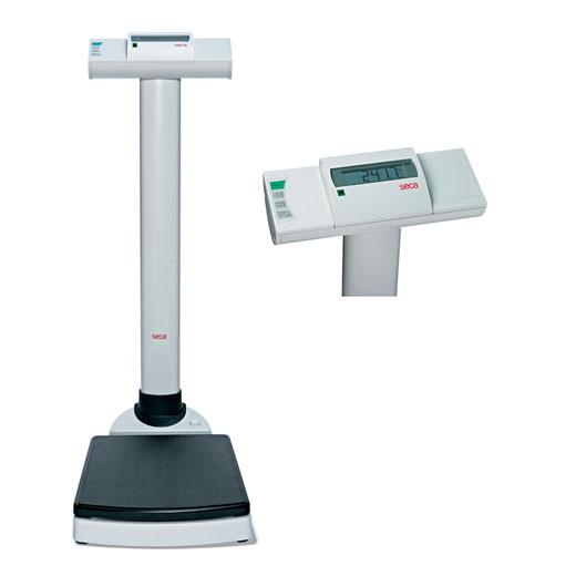 Säulenwaage Seca 704- incl- Eichkosten elektrische Waage- hohe Tragkraft- BMI-Funktion