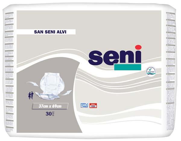 San Seni Alvi Vorlagen (P-30)- atmungsaktive Stuhlvorlage