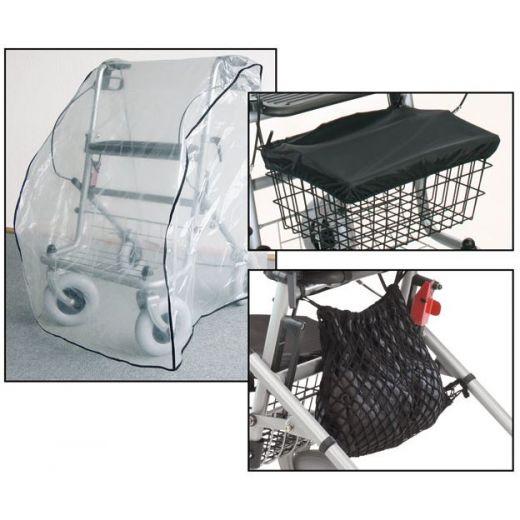 Schutz-Set (Schutzhaube- Korbabdeckung- Netz) 3-teiliges Set für Ihren Rollator