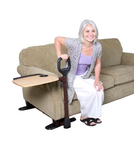 Sofagriff Deluxe CouchTray Couchgriff zum Aufstehen- mit Ablagetisch