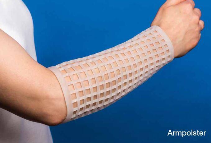 YATHAN Gel-Armpolster (Paar)- Polsterverband zum Schutz vor Hautläsionen- bei empfindlicher Haut- Abdeckung von versorgten Wunden
